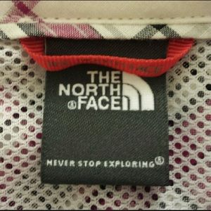 The North Face Tops - The North Face sport shirt w/hidden pocket
